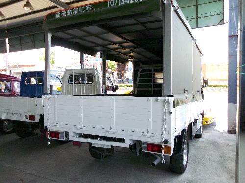 鴻福汽車商行-三菱得力卡 帆布貨架 好用商用車
