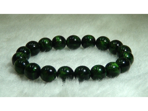 藝禪-綠蜜手珠