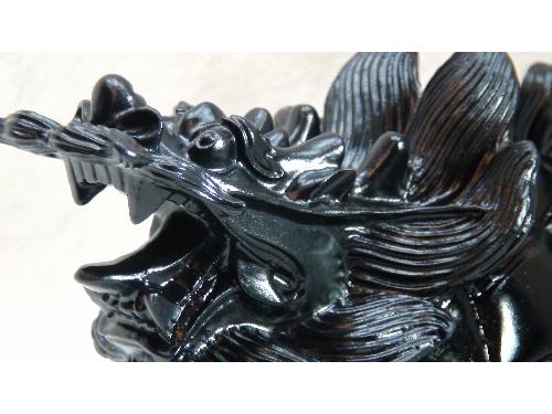 藝禪-黑曜石龍龜
