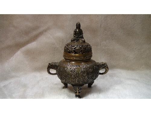 藝禪-如來銅香爐