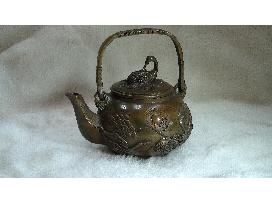 銅提梁茶壼