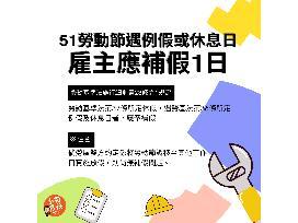 高市勞工局提醒注意5月1日勞動節權益事項