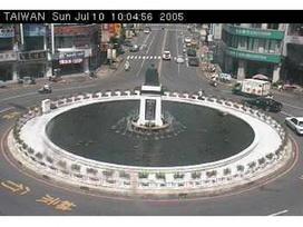 嘉義中央噴水圓環