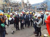 勞動部職安署與本市府合辦中油大林廠春安突檢  呼籲石化業者強化製程安全管理