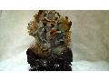 瑪瑙雕件-海底世界