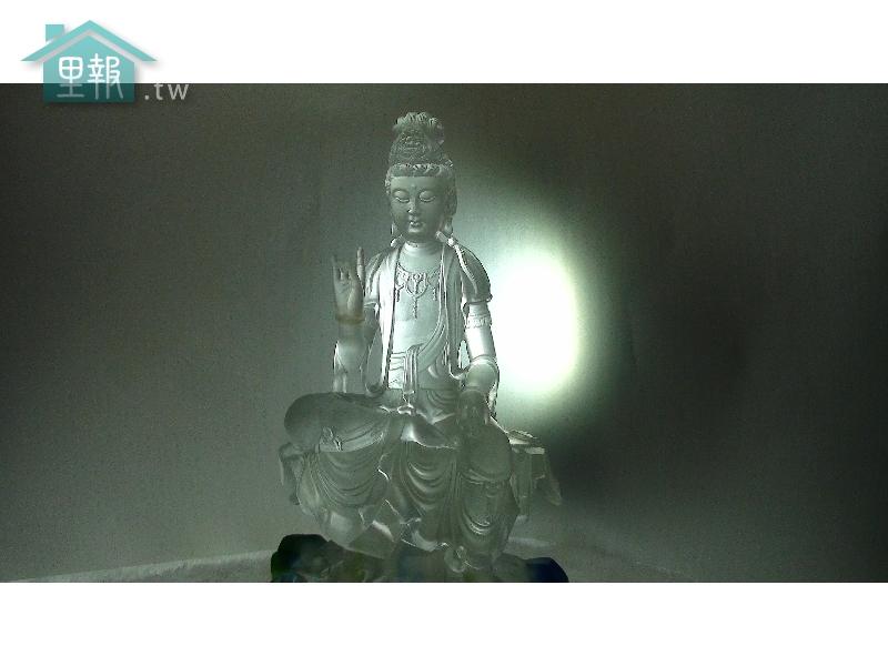 藝禪-水晶觀音像