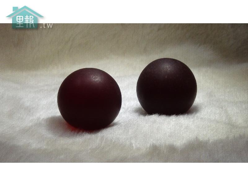 藝禪-血珀球 一對
