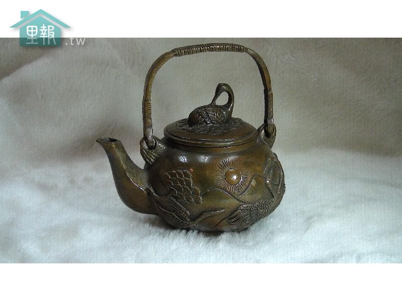 藝禪-銅提梁茶壼