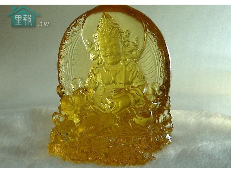 藝禪-琉璃黃財神
