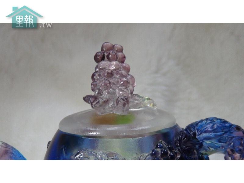 藝禪-精選琉璃福到壼(葡萄)