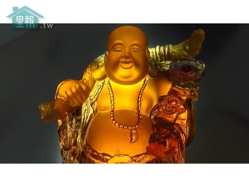 藝禪-琉璃如意財神
