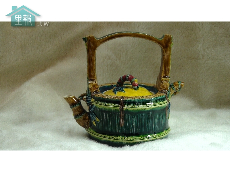 藝禪-交趾陶茶壼